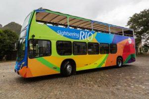 Rio ganha ônibus turístico panorâmico – Sightseeing